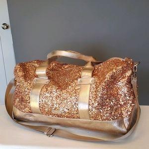 Rose Gold Nine West Bag